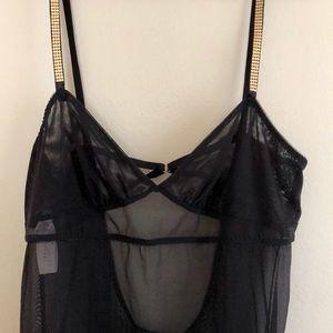 Victoria's Secret Black Slip/Lingerie